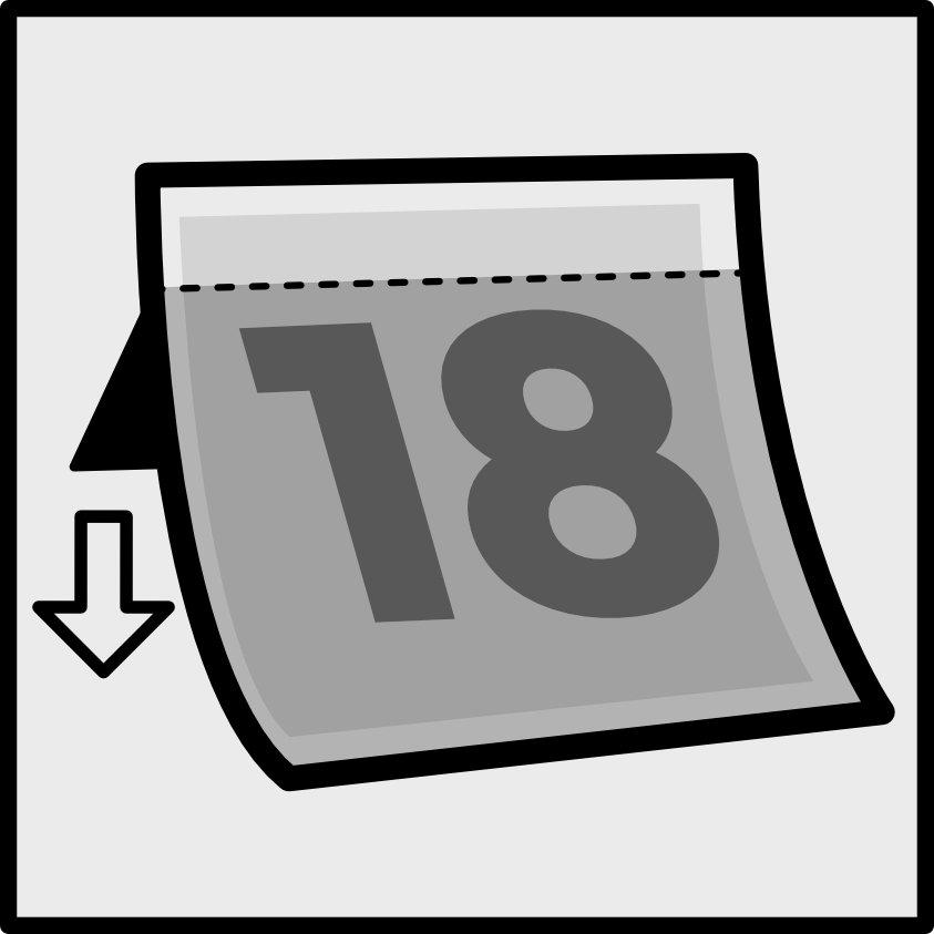 Bin stickers - Instructions - Apply your sticker